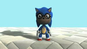 My Sonic Costume in LBP by SuperLeboy