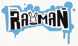 Rayman Logo Screenprint by Spinky1