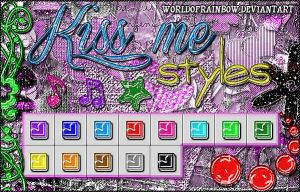 +Kiss me Styles. by worldofrainbow