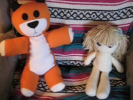 Hobbes and Doll by kaistermaister