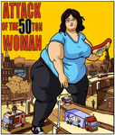 Commission: Attack of The 50 Ton Woman by Idle-Minded
