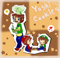 .: Yoshi Cookies :. by Finni-NF