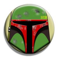 Boba Fett Button by Mutant-Cactus