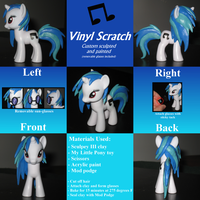 Vinyl Scratch custom by AleximusPrime