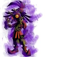 majoras mask by Glitch-In-Life