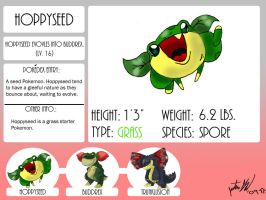 Fakemon, Hoppyseed by mastergloyd