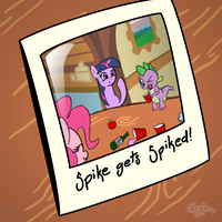 Spike Gets Spiked by CosmicWaltz