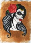 Day of the dead by cockneynutjob