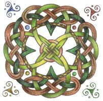 Eriu's Knot by Spiralpathdesigns