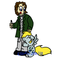 Derpy and the Eight Doctor by Usagi-Zakura