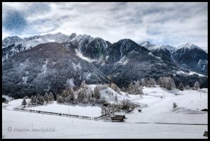 Austrian Mountains I by Haufschild