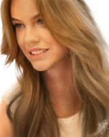 IPad finger painting of Barbara Palvin by chaseroflight