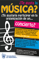 Flyer Convocatoria TEC by offernandinhoon