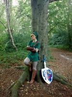 Link cosplay by RealTRgamer