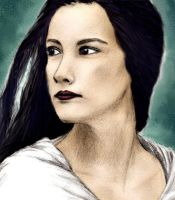 Arwen - coloured, unfinished by celeste