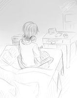 Midterms-Sketch by chexuka