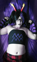 March!Eridan - vviolet is a wwonderful color by GamblingSpirit
