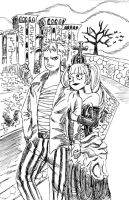 One Piece:Zoro and Perona lost by HiroyValesti