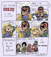 OOH MISTER DREDD by cigar-blues
