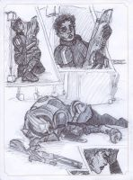 Garrus Down by CommanderKip