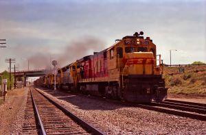 ATSF Trinidad, CO 1989 by eyepilot13