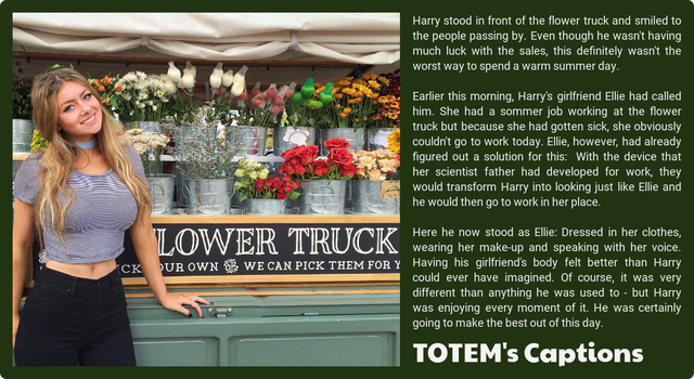Flower Truck by totemscaptions