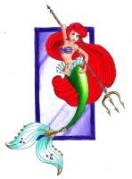 Disney Princesses: Ariel by Whynotfly