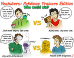 Youtubers-Pokemon Trainers Edition by RedRavie