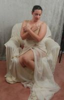 Seated Nouveau Lady 6 by themuseslibrary