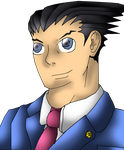 Phoenix Wright by CrossoverGamer