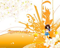 Haruhi Wallpaper +not mine+ by ourankeybladebearer
