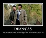 Dean and Cas by LxLightfangirl4ever