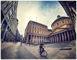 Biking Milan by SebKaiser