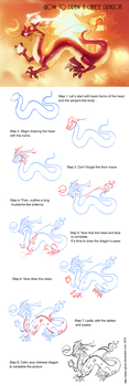How to draw a chinese dragon step by step by Static-ghost