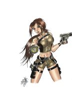 Lara Croft Underworld by littlesusie2006