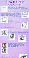 How to draw manga eyes by Shanster2