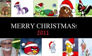 Merry Christmas 2011 by MetalGriffen69