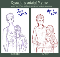 Before And After Meme by Itachiwife