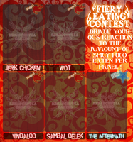 SFME : Fiery Eating Contest Template by happyfayes