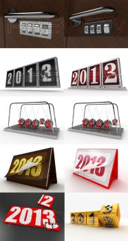 2012 to 2013  - New Year by Digital-Saint