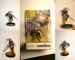 Custom Fierce Deity Link Amiibo by Dornogol