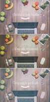Fruity Header Images - Mock Up by DOMDESIGN