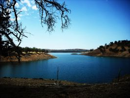Lake near Mariposa CA by LElizabeth89