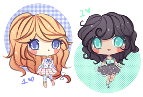 Chibi Adopts 7 (SOLD) by mochatchi