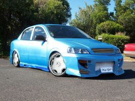 A Mates Astra by hotrod32