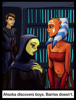 Barriss Doesn't by Tourbillon-da