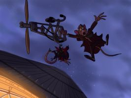 Ratigan's Death by JustSomePainter11