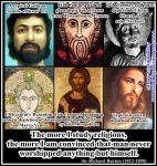 The Changing Face of Jesus by AAtheist