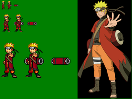 Awesome Sage Naruto Sprite! by SalTheSpriter