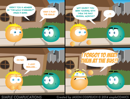 SC835 - Member of the Band by simpleCOMICS